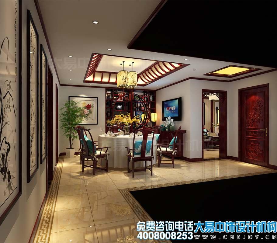 山东兖州中式住宅设计 竹韵衬托下的一片幽然