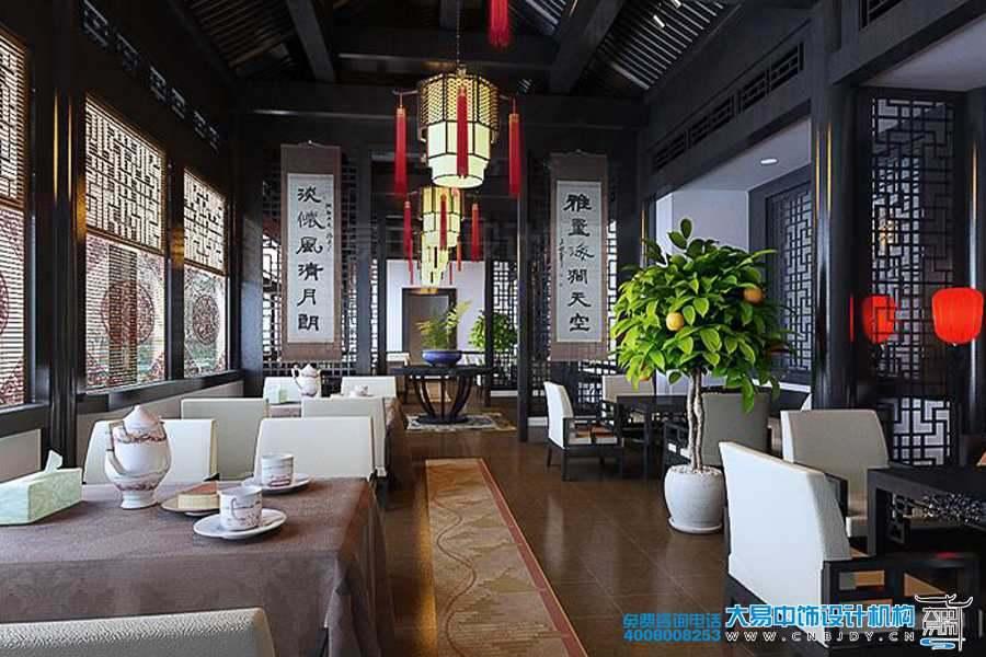 江苏扬州中式会所设计 穿越到古代去就餐