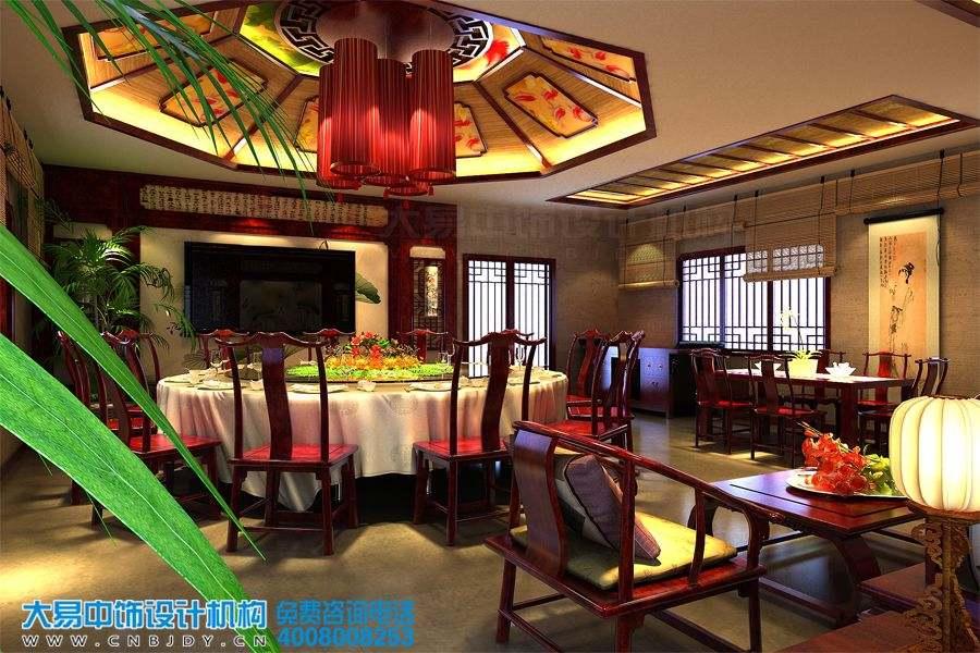 合肥中式餐饮空间装修效果图