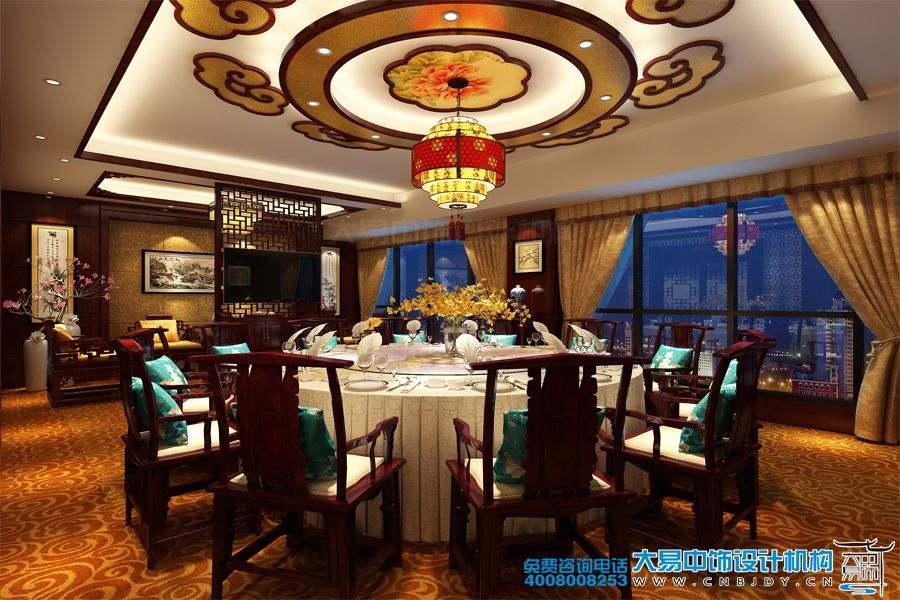 北京方庄中式餐饮空间装修效果图倍感温馨