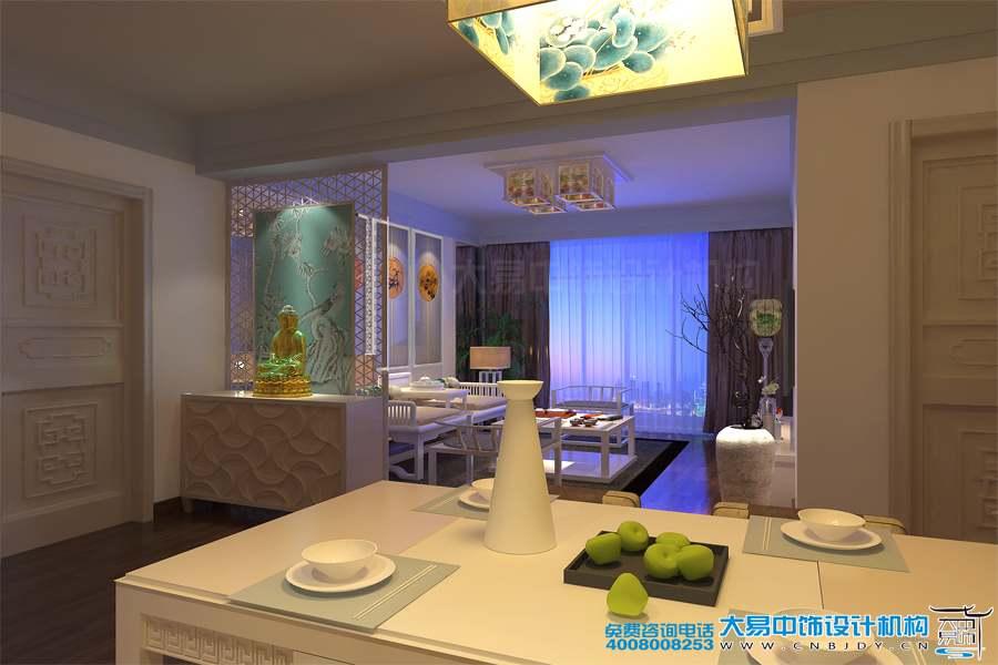 现代中式住宅设计装修 温馨生活中那一抹明亮的白
