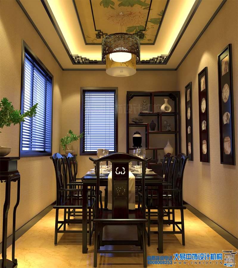 北京450平米王府新古典别墅设计 中式空间装修高雅
