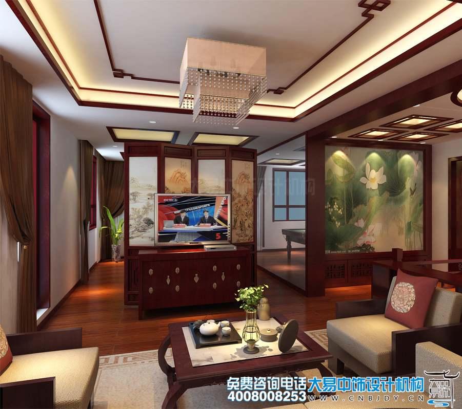 住宅简约中式设计装修 年轻夫妇对传统审美的新诠释