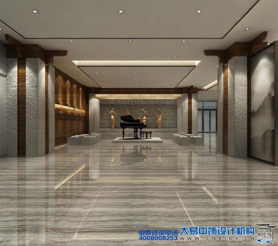 北京国际酒店新中式设计装修古今艺术的碰撞