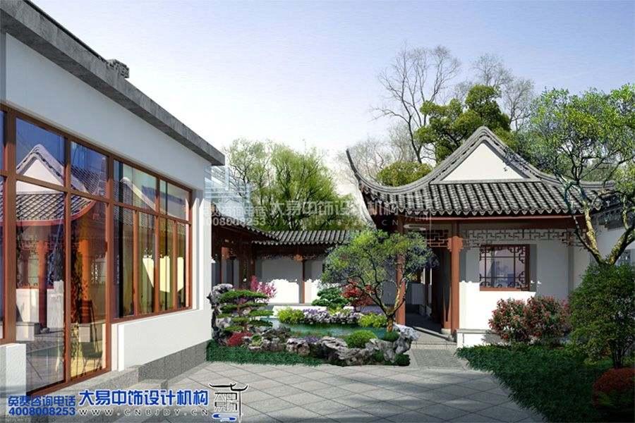 上海苏式园林中式设计装修 十里洋场的避世之所图片