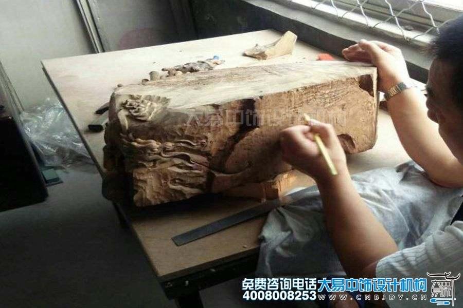 大易中饰装修用木作厂实景图