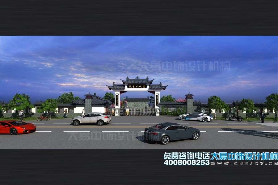 北京大兴农业科技体验园规划设计效果图