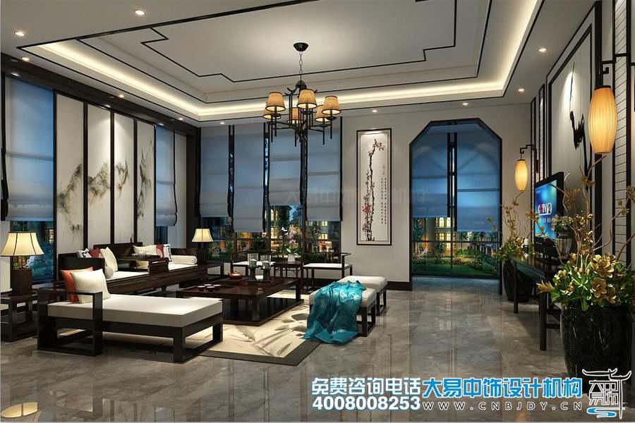 新中式风格装修效果图大气明快的设计风格