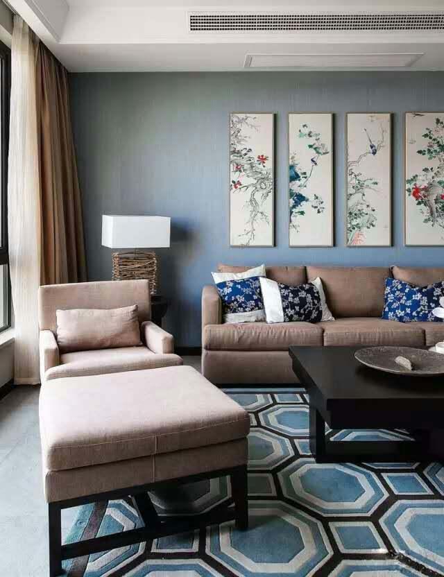 中式装修设计中应该如何使用窗帘,选取窗帘布艺?——大易中式