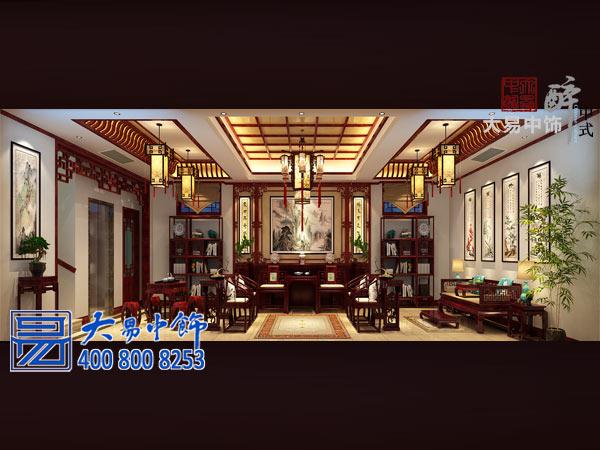 中式四合院设计实景效果 书香门第尽显传统底蕴