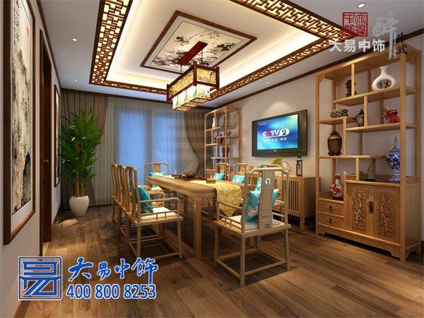 北京国奥村新中式风格家庭中式设计有声有色