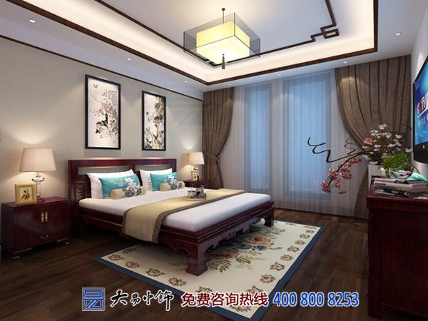 承德别墅新中式设计装修 帝王胜地尽显国风古韵