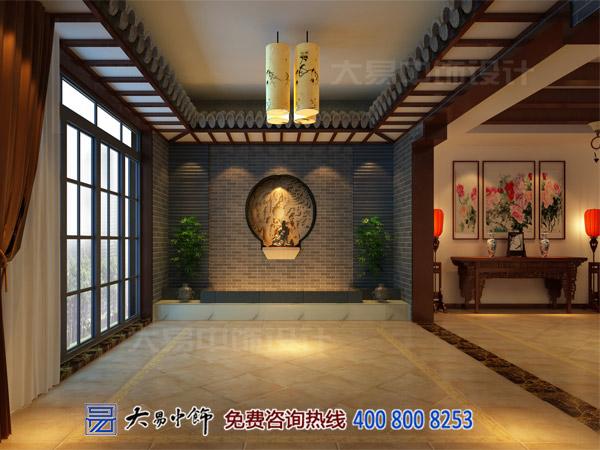 古典中式设计茶楼以纯色醇香设计为元素构建