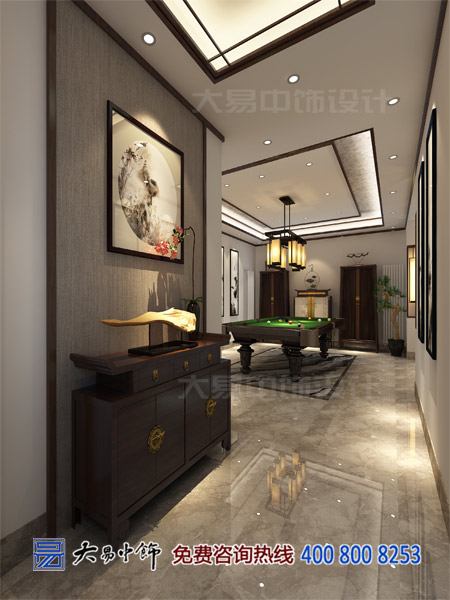香颂复式家居新中式设计,开启现代生活诗意篇章