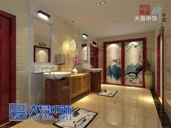 上海现代新中式会所装修效果图