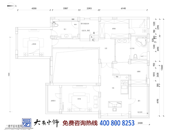 香山别墅中式设计装修 宛若隔世的桃源人生