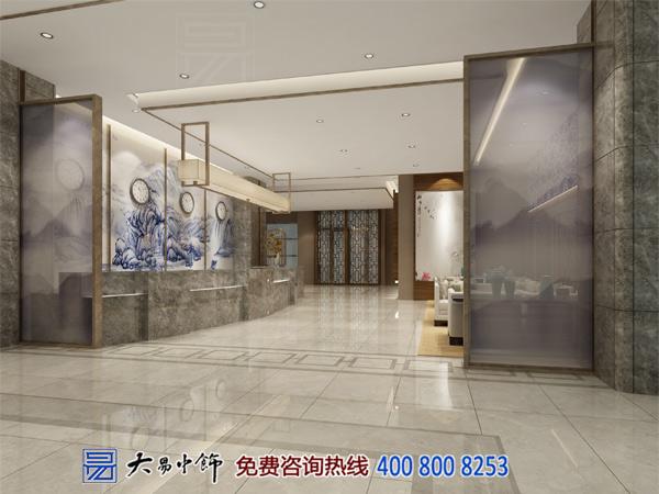 北京国际酒店新中式装修风格设计古今艺术文化的碰撞