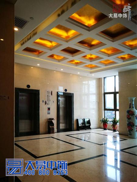 中式酒店装修竣工现场 国际大酒店中式设计