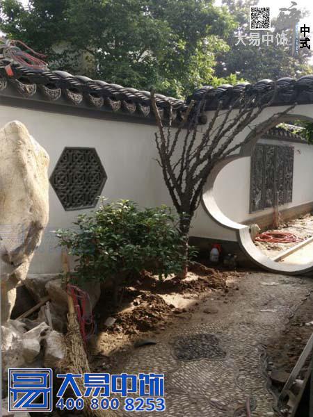 郑州老别墅改造施工案例 把江南园林移入中原大地