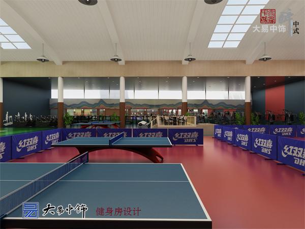 北京兰帕国际酒店休闲娱乐区新中式风格装修设计(二)