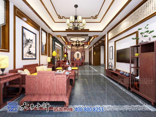 简约别墅中式设计 为你还原传统大家族的荣耀