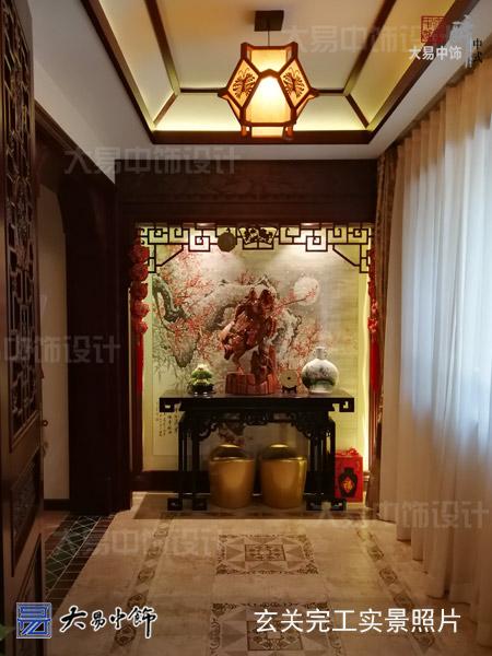 园景别墅中式装修完工实拍 呈现最写实传统风