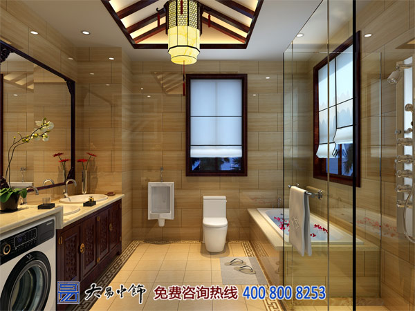 北京220平米现代新中式住宅设计图