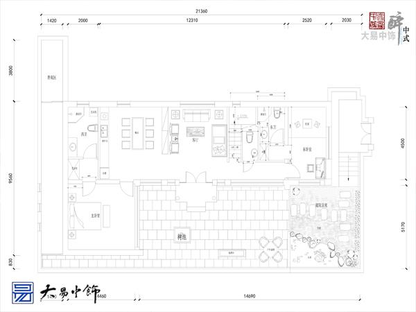 紫旸山庄客栈中式装修设计 休闲度假好风光