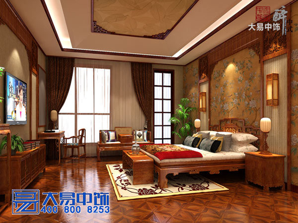 如何中式装修设计-家庭住宅样板房技巧攻略?