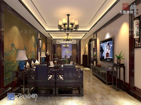 山东仿古四合院中式装修设计,品味高端大气豪宅生活