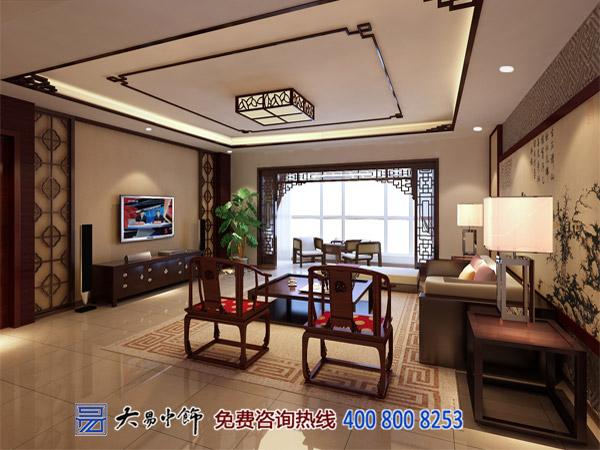 中式家装客厅中式装饰风格如何规划布局?