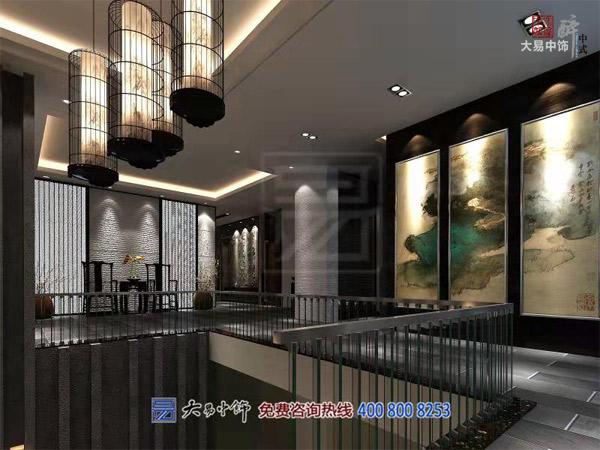 北京新中式风格会所装修设计 私人接待会客会馆