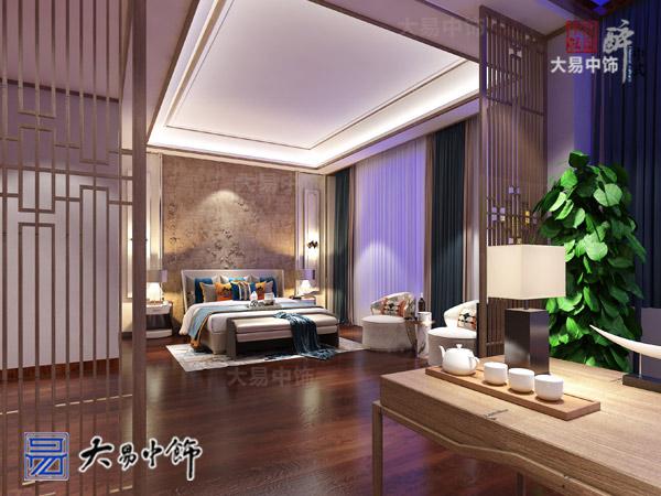 西安曲江别墅现代新中式风格装修全案设计