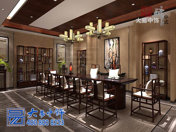 天津茶馆中式风格装修哪家好?