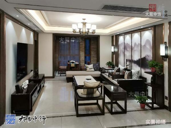 安浐灞半岛家庭室内设计感受新中式风格全屋整装生活