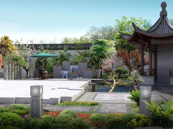 园林中式设计艺术建筑之美,清新优雅的装修风格
