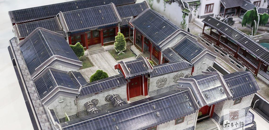 中式极简四合院设计,简直不要太美了!
