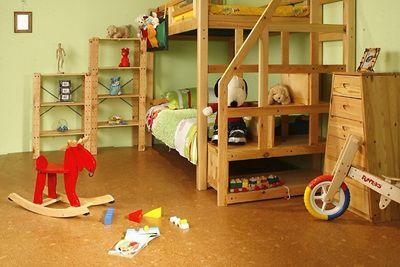 中式装修哪些地方可以铺设软木地板?