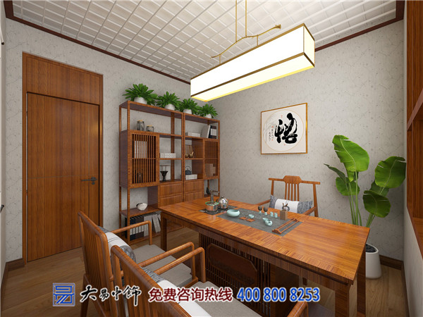 河南茶楼新中式设计,带你感受古今视觉享受!